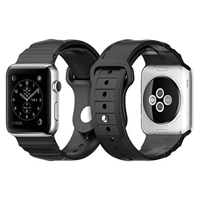 Ремешок SGP Rugged для Apple Watch 42mm Black
