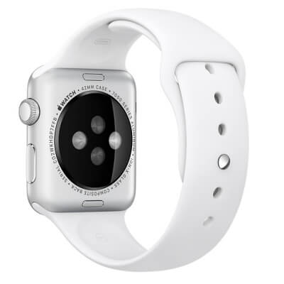 Ремешок 42mm White Sport Band - S/M & M/L для Apple WATCH