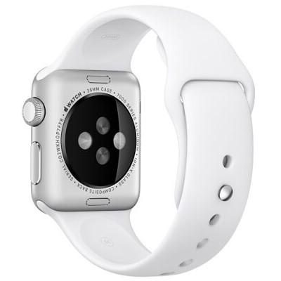Ремешок Apple WATCH 42mm White Sport Band - M/L & L/XL