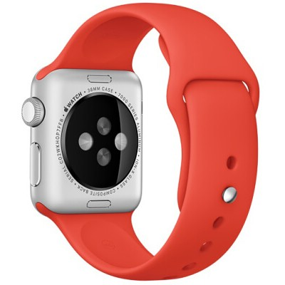Ремешок 38mm Orange Sport Band для Apple WATCH