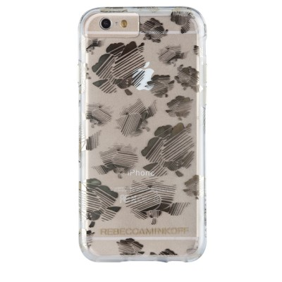 Чехол-накладка Case-Mate для iPhone 6/6S Metallic Prints (Naked Striped/Floral)