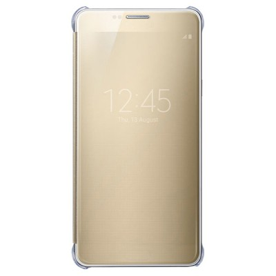 Чехол-книжка Samsung Galaxy Note 5 Clear View Cover (золотой)
