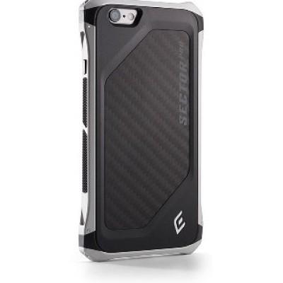 Чехол-накладка Element для iPhone 6/6S Sector Pro (серебро/черный) EMT-0039
