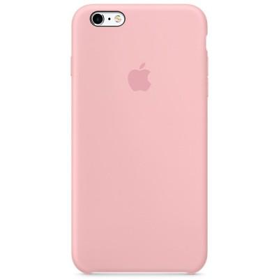 Чехол-накладка Apple iPhone 6 Plus/6S Plus силикон (розовый) MLCY2