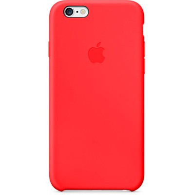 Чехол-накладка Apple для iPhone 6/6s силикон (красный) MGQH2ZM/A
