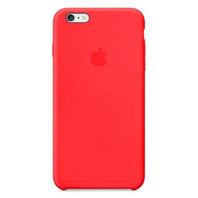 Чехол-накладка Apple iPhone 6 Plus силикон (красный) MGRG2