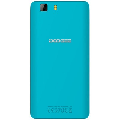 Сменная задняя панель Doogee X5 (голубая)