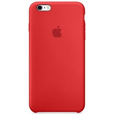Чехол-накладка Apple iPhone 6/6S силикон (красный) MKY32