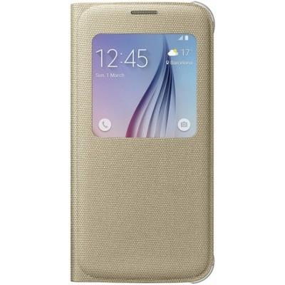 Буклет Samsung Galaxy S6 G920 S View (золотой) EF-CG920BFEGRU