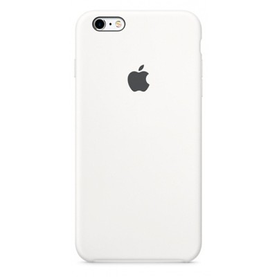 Чехол-накладка Apple iPhone 6/6S силикон (белый) MKY12