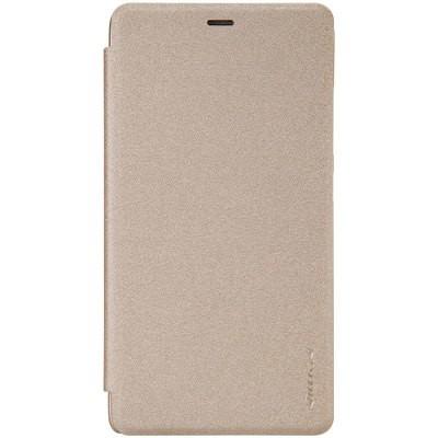 Чехол-книжка Nillkin Sparkle series для Xiaomi Redmi Note 3 (золотой)