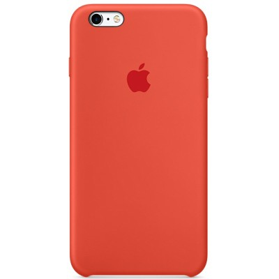Чехол-накладка Apple iPhone 6 Plus/6S Plus силикон (оранжевый) MKXQ2
