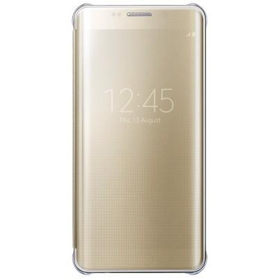 Чехол-книжка Samsung Galaxy S6 Edge+ View Cover (золотой)