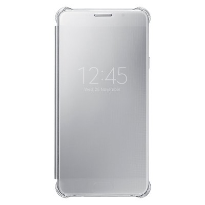 Чехол-книжка Samsung Galaxy A7 2016 Clear View (серебро)