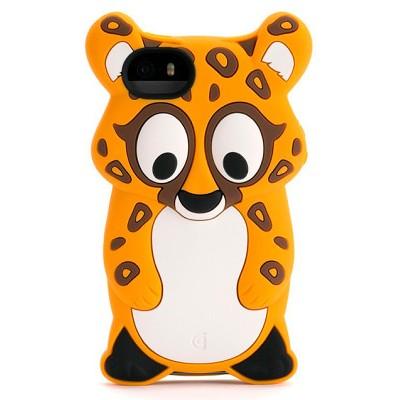Чехол-накладка Griffin для iPhone 5/5S Kazoo Cheetah (бежевый)