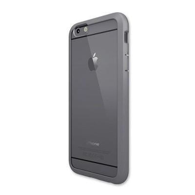Чехол-накладка Colorant для iPhone 6/6S С1 Soft Clear (серый)