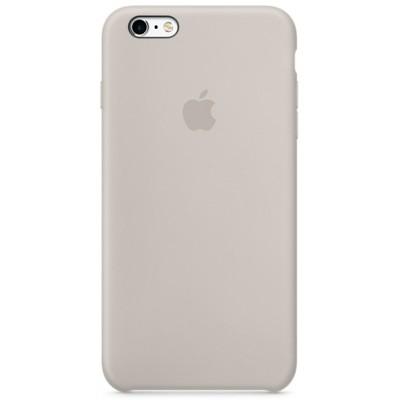 Чехол-накладка Apple iPhone 6/6S силикон (серый) MKY42