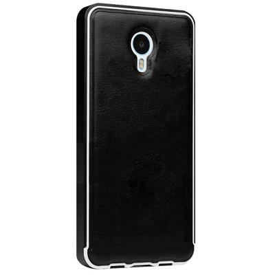 Чехол-накладка Bepak для Meizu M2 Note metal bumper (черный)