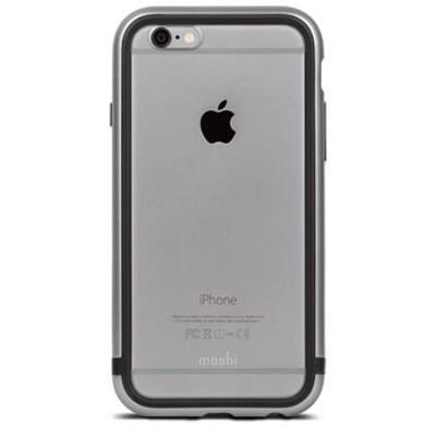 Бампер Moshi iGlaze Luxe для iPhone 6/6S (серый)