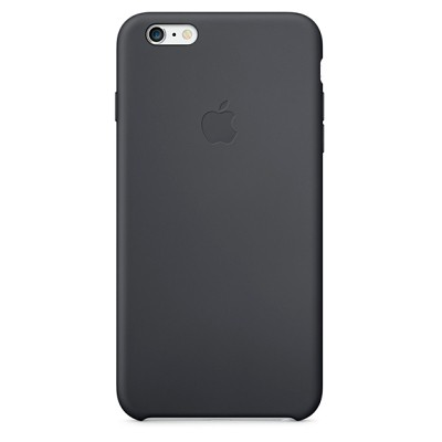 Чехол-накладка Apple iPhone 6 Plus силикон (черный) MGR92