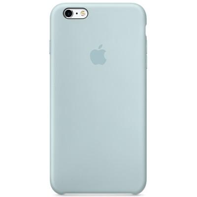 Чехол-накладка Apple iPhone 6 Plus/6S Plus силикон (голубой) MLD12