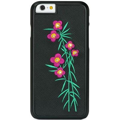 Чехол-накладка BMT для iPhone 6/6S Petite FloraVivacity (черный)
