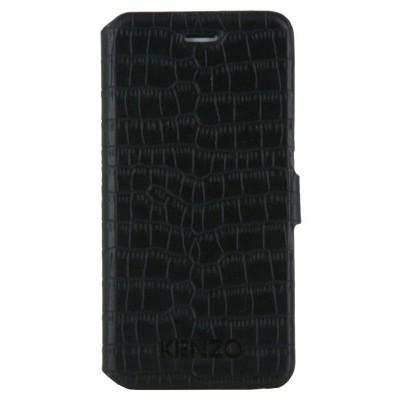 Чехол-книжка Kenzo для iPhone 6/6s Folio Croco Finish (черный)