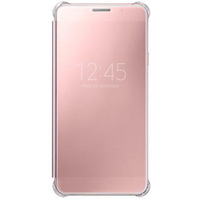 Чехол-книжка Samsung Galaxy A7 2016 Clear View (розовый)