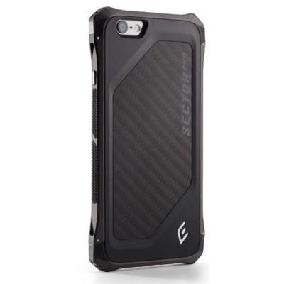 Чехол-накладка Element для iPhone 6/6S Sector Pro (черный) EMT-0003