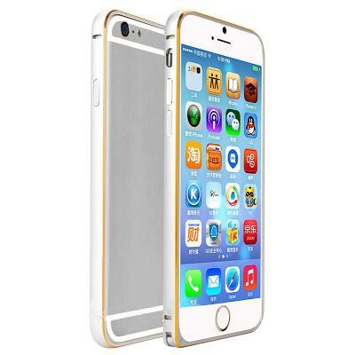 Бампер Remax Halo Series iPhone 6 (серебро)