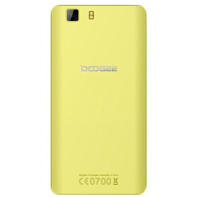 Сменная задняя панель Doogee X5 (желтая)