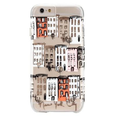 Чехол-накладка Case-Mate для iPhone 6/6S (West Village Print)