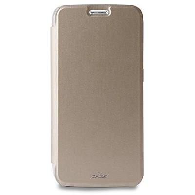 Чехол-книжка Puro для Galaxy S6 ECO-LEATHER (золотой)