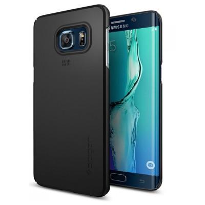 Чехол SGP Thin Fit для Galaxy S6 edge+ PET (черный)