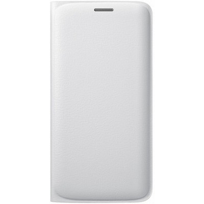Чехол-книжка Samsung Galaxy S6 Edge Flip Wallet (белый)