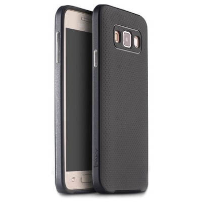 Чехол-накладка iPaky Original для Samsung Galaxy A7 (темно-серый)