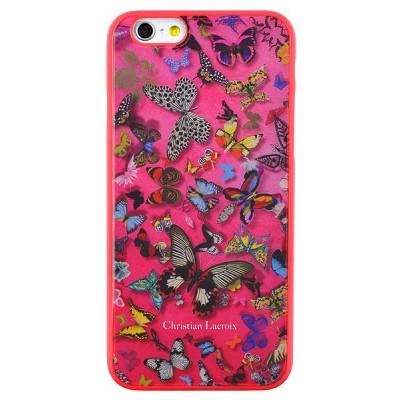 Чехол-накладка Christian Lacroix для iPhone 6 Butterfly Parade (розовый)