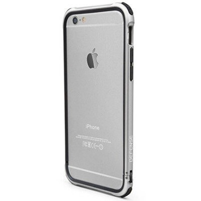 Бампер X-doria Defense Gear для iPhone 6/6s (серебро)
