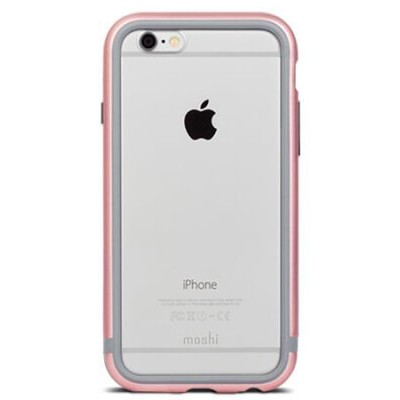Бампер Moshi iGlaze Luxe для iPhone 6/6S (розовый)