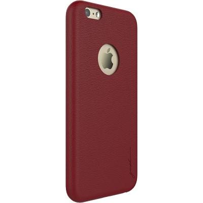 Чехол-накладка Gosh Analina Faux для iPhone 6/6s (красный)