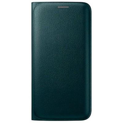 Чехол-книжка Samsung Galaxy S6 Edge Flip Wallet (зеленый)
