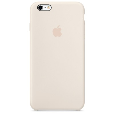 Чехол-накладка Apple iPhone 6/6S силикон (мраморно-белый) MLCX2