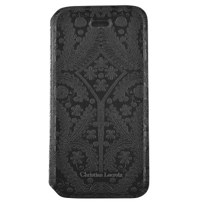 Чехол-книжка Christian Lacroix для iPhone 6/6S Folio Paseo (черный)