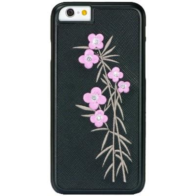 Чехол-накладка BMT для iPhone 6/6S Petite FloraElegance (черный)