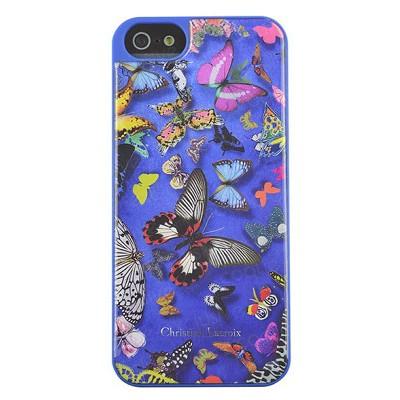 Чехол-накладка Christian Lacroix для iPhone 5/5S Butterfly (голубой)