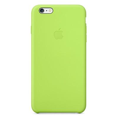Чехол-накладка Apple iPhone 6 Plus силикон (зеленый) MGXX2