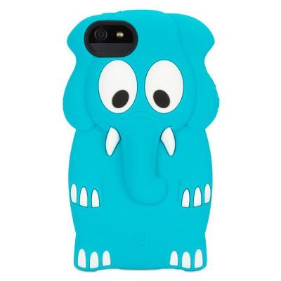 Чехол-накладка Griffin для iPhone 5/5S Kazoo Elephant (синий)