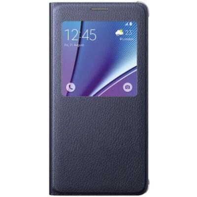 Буклет Samsung Galaxy Note 5 S View Cover (черный)