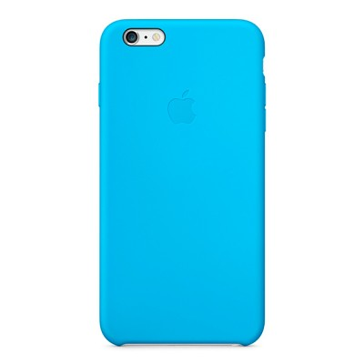 Чехол-накладка Apple iPhone 6 Plus силикон (голубой) MGRH2