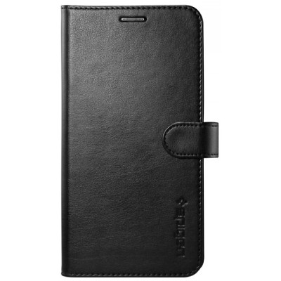 Чехол-книжка SGP Wallet S для Galaxy S6 Edge+ (черный)
